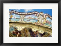 Framed Carousel de Montmartre II