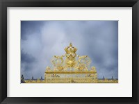 Framed Golden Gate Of The Palace Of Versailles I