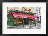 Framed Green Grocer In Paris