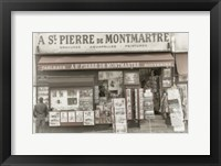 Framed Monmartre Shop 1