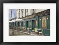 Framed Montmartre Cabaret