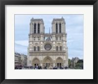 Framed Notre Dame de Paris I