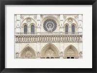 Framed Notre Dame Facade Details I