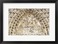 Framed Notre Dame Facade Details II