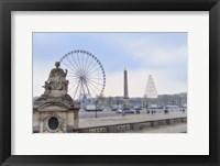 Framed Place de la Concorde