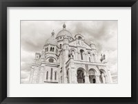 Framed Sacre-Coeur III