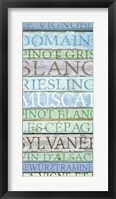 Framed Alsace Wines