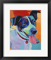 Framed Willie Terrier Dog