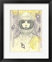 Framed Space Queen 1