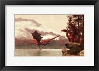 Framed Autumn Dragons
