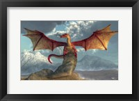 Framed Fire Dragon