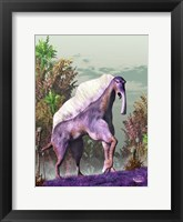 Framed Purple Fantasy Creature