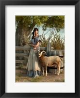 Framed Farmer's Daughter