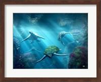 Framed Turtle Alley