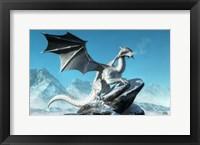 Framed Winter Dragon