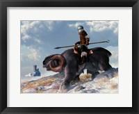 Framed Winter Warrior