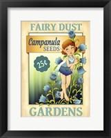 Framed Campanula Seeds