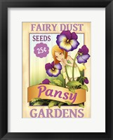 Framed Pansy Seeds