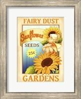 Framed Sunflower Seeds