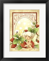 Framed Strawberry Fairy