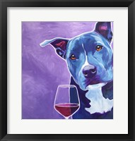 Framed Shakti With Wine