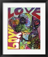 Framed Boxer Love