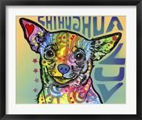 Framed Chihuahua Luv