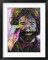 Framed Jerry Garcia 2