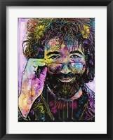 Framed Jerry Garcia