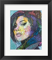 Framed Amy Winehouse