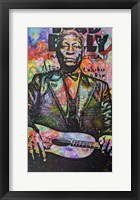 Framed Lead Belly