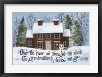 Framed Grandma's House 1
