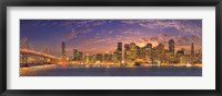 Framed SF with Bay Bridge
