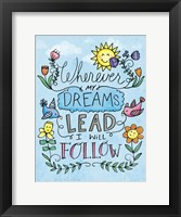Framed Dreams Lead