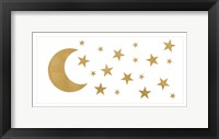 Framed Gold Moon