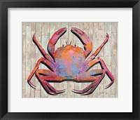 Framed Contemporary Crab I