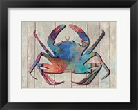Framed Contemporary Crab III
