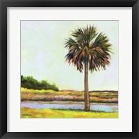 Framed Marsh Palm