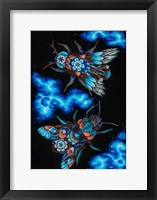 Framed Blooming Animals - Insects