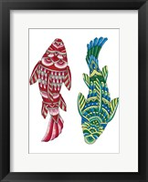 Framed Animals Lovers - Fish