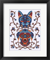 Framed Animals Lovers - Cat & Dog