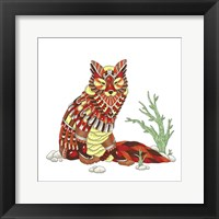 Framed Spirit Animals - Fox