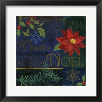 Framed Noel Patch