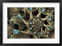 Framed Turquoised Bronze