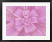 Framed Pretty Pink Bow I