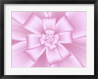 Framed Pretty Pink Bow III
