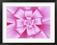 Framed Pretty Pink Bow IV