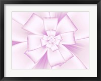 Framed Pretty Pink Bow V