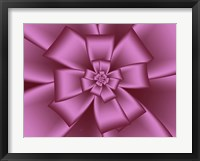 Framed Pretty Pink Bow VII