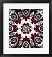 Mod Pod 1 Red Framed Print